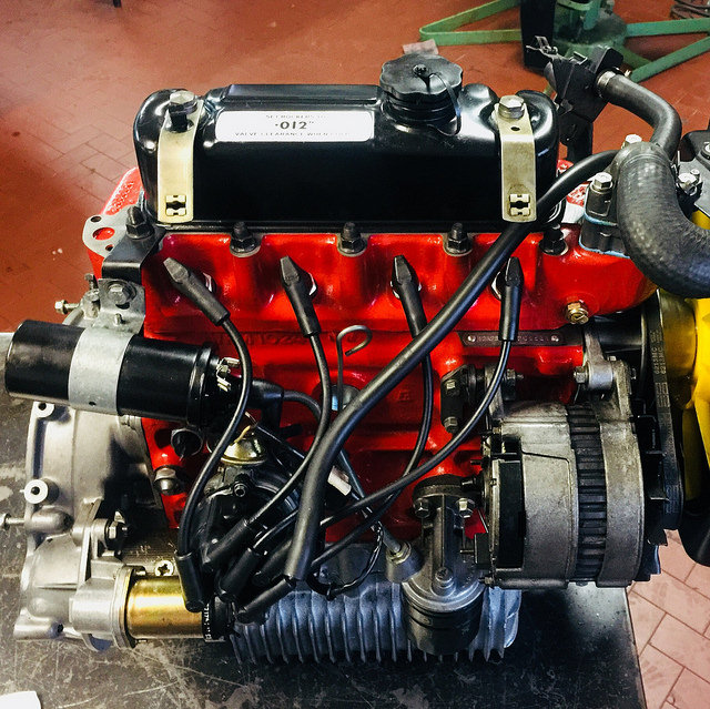 Restored Engine Mini 12a2b